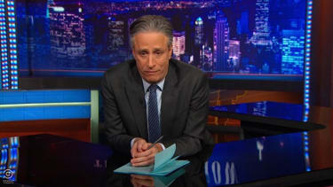 Jon Stewart brilliantly tackles the Charlie Hebdo murders: Comedy 'shouldn't be an act of courage'