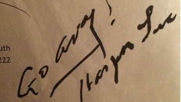 Harper Lee's response.