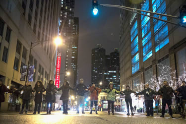 Laquan McDonald shooting protesters in Chicago