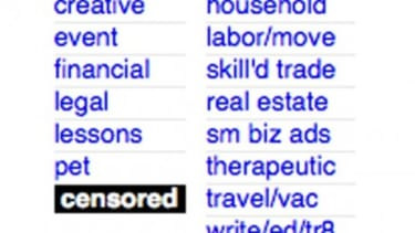 Craigslist has shut down its Adult Services section after being accused of profiting from ads that promote prostitution.