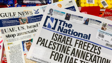 The National and Gulf News announce landmark deal between the UAE and Israel.