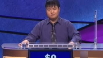 Watch the moment Arthur Chu finally lost on Jeopardy!