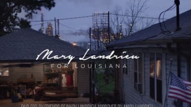 Democratic Sen. Mary Landrieu runs away from Obama in campaign ad