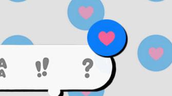 Apple emoji tapback.