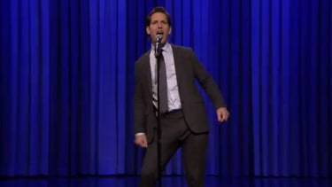 Watch Jimmy Fallon try to beat Paul Rudd at lip-syncing