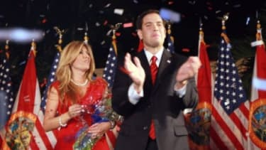 Sen. Marco Rubio (R-Fla.) and his wife