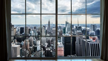 A New York apartment.