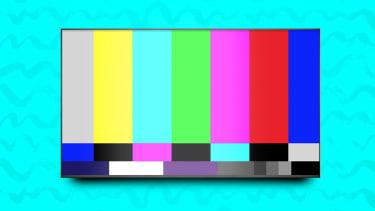 A TV.
