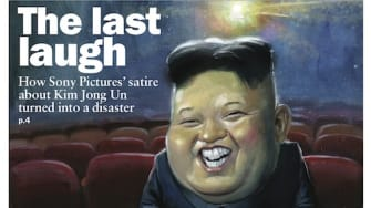 Kim Jong-un covers this week's issue of The Week magazine