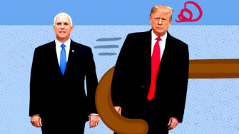 President Trump and Mike Pence.