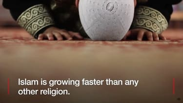 Islam is expected to overtake Christianity by 2070