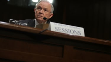 Jeff Sessions testifies before the Senate Intelligence Committee