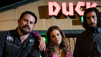 Channing Tatum, Riley Keough, and Adam Driver in 'Logan Lucky.'