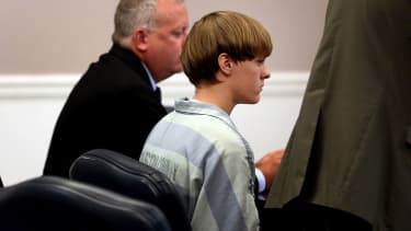 Charleston shooting suspect Dylann Roof in court