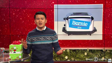 The Daily Show cannot believe the politics of gift-giving 2016