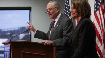 House Minority Leader Nancy Pelosi and Sen. Chuck Schumer.