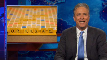 Jon Stewart finds a simple fix to the ObamaCare subsidy court chaos, despairs anyway