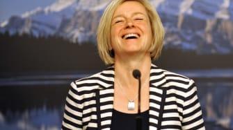 Alberta New Democratic Party leader Rachel Notley.