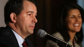 Poll: Gov. Scott Walker in tight race in Wisconsin, trailing among likely voters