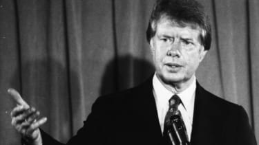President Jimmy Carter,  pictured in 1976.