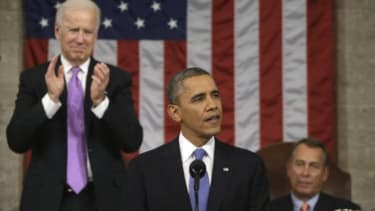 The most compelling part of Obama's speech was perhaps his call to Congress to vote on gun-control measures.
