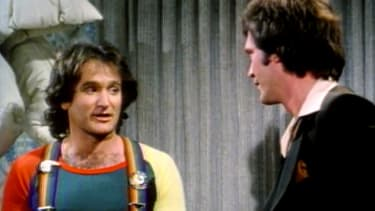 Letterman remembers Robin Williams with old stories, clips, and a forgotten Mork cameo