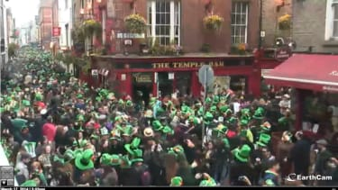This is what Dublin looks like on St. Patrick's Day