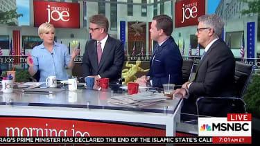 Morning Joe responds to Trump tweetstorm