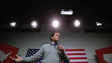 Marco Rubio campaigns in New Hampshire