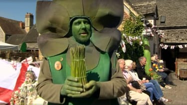 Gus the asparagus man is a blessing unto this Earth.
