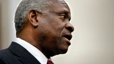 Very rare for Justice Thomas.