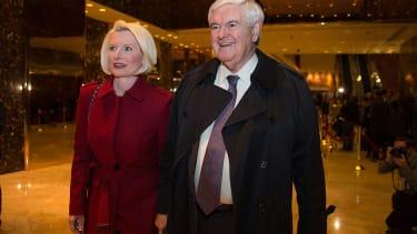 Newt Gingrich and Callista Gingrich.