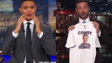 Trevor Noah and Jimmy Kimmel on James Comey being fired