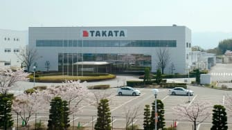 A Takata factory in Japan.