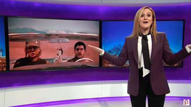"""Samantha Bee references """"Thelma & Louise"""" to explain TrumpCare's collapse"""