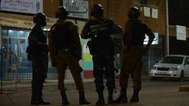 Police in Burkina Faso.