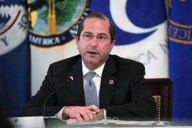 Health and Human Services Secretary Alex Azar.