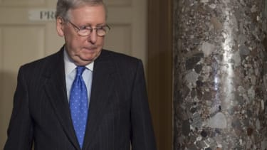 """Mitch McConnell prepares to deploy the """"nuclear option"""""""