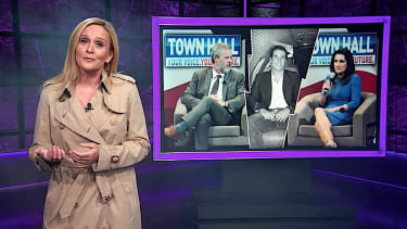"""Samantha Bee answers the big question about Jerry Falwell Jr. and the """"poll boy"""""""