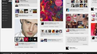 The new MySpace uses a drag-and-drop interface that is meant to make it easier for users to connect with artists they like.