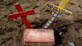 A grave.