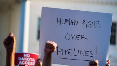 A judge denied a request to stop Dakota Access Pipeline construction.