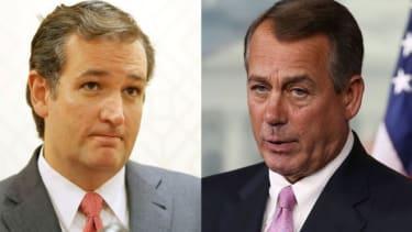 Cruz vs. Boehner