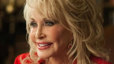 """Dolly Parton's plastic surgery is both a constant punchline and a major distraction in the movie """"Joyful Noise."""""""