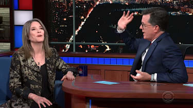 Marianne Williamson on The Late Show