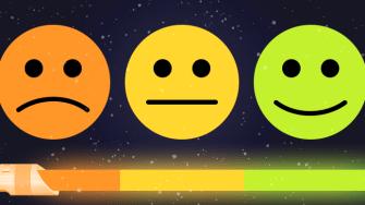 Smiley faces.