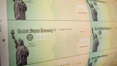 Treasury stimulus checks.