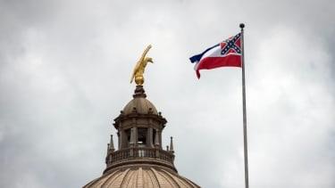 The Mississippi flag.