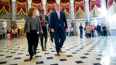 House majority leader Kevin McCarthy.