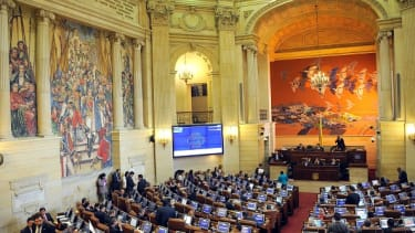 The Colombia Congress House of Representatives.